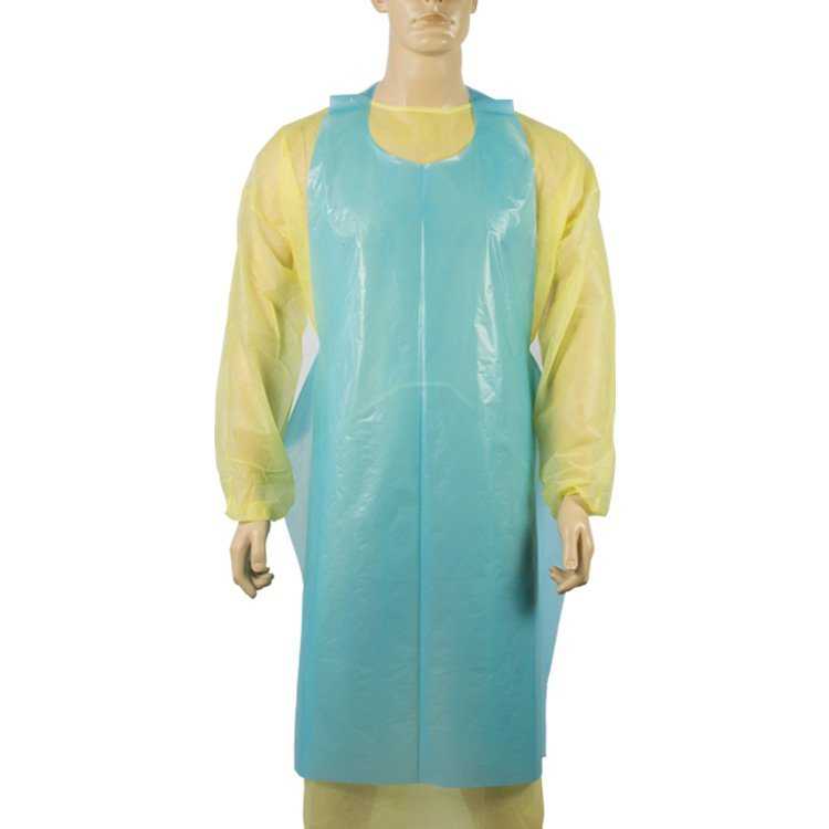 PE Apron Plastic Disposable Waterproof Wholesale Personal Protection Cleaning