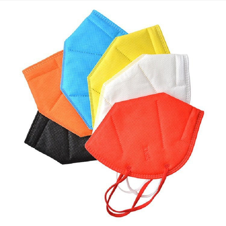 Colorful Disposable Medical Surgical KN95 Face Mask